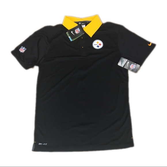 7a88852c1422 Pittsburgh Steelers Nike Dri Fit Polo Shirt Small